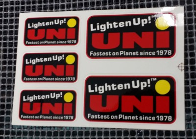Medford & Grants Pass, OR screen printed stickers and decals